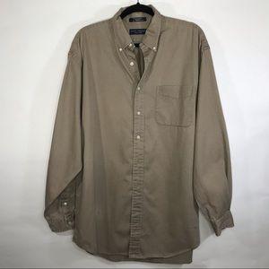 Daniel Cremieux Cotton Long Sleeve Button Up L